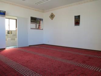 2階 ムスリマ(女性)専用礼拝室