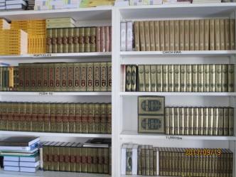 1階 事務所 書棚